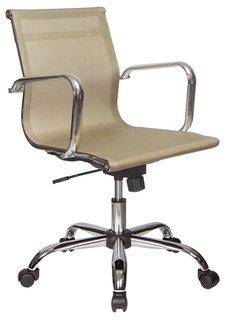 Кресло руководителя Бюрократ CH-993-Low (золотистый)