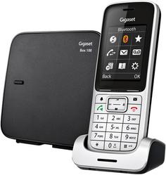 Радиотелефон Gigaset SL450 SYS (черный, серебристый)