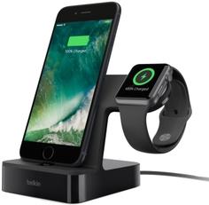 Док-станция Belkin PowerHouse для Apple Watch + iPhone (F8J200vfBLK)