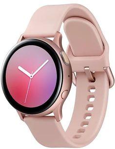 Умные часы Samsung Galaxy Watch Active2 Алюминий 44 мм + ремешок SM (ваниль)