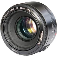 Объектив Yongnuo 50mm F/1.8 Canon EF (черный)
