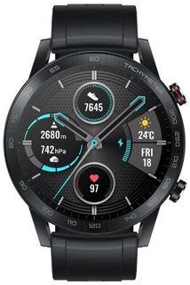 Умные часы Honor Magic Watch 2 с черным ремешком (черный)