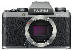 Цифровой фотоаппарат Fujifilm X-T100 Body (темно-серебристый)