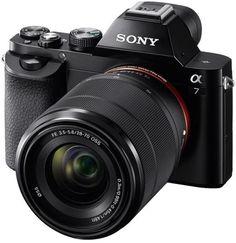 Фотоаппарат со сменной оптикой Sony Alpha A7 Kit (черный)