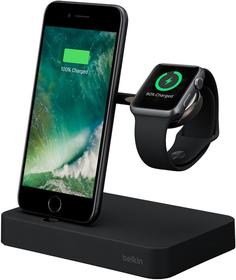 Док-станция Belkin F8J183vf для iPhone и Apple Watch (черный)