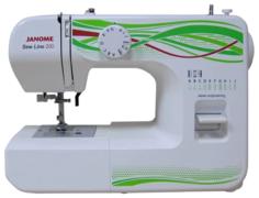 Швейная машинка JANOME Sew Line 200 (белый)