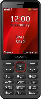 Мобильный телефон teXet TM-309 (черный)