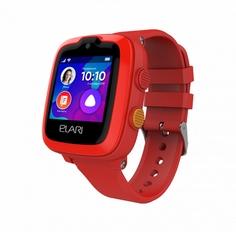 Детские умные часы Elari KidPhone-4G (красный)