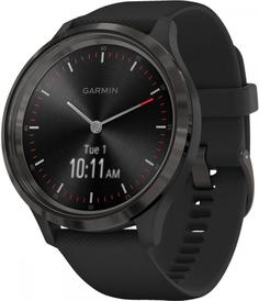 Умные часы Garmin vivomove 3 S/E EU Slate Black Silicone (010-02239-21)