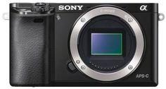 Фотоаппарат со сменной оптикой Sony Alpha 6000 Body (черный)