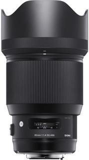 Объектив Sigma AF 85mm f/1.4 DG HSM Art NIKON (черный)