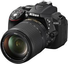 Зеркальный фотоаппарат Nikon D5300 Kit 18-140mm (черный)