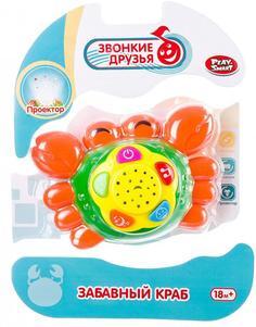 Развивающая игрушка Play Smart Забавный краб (разноцветный)