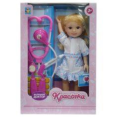 Кукла 1TOY Красотка Маленький Доктор (разноцветный)
