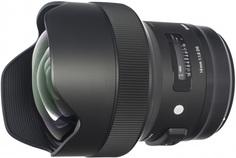 Объектив Sigma AF 14mm f/1.8 DG HSM  A CANON (черный)