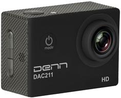 Экшн-камера Denn DAC211 (черный)