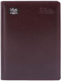 Ежедневник LETTS Global Deluxe A5 (бордовый)