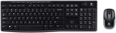 Клавиатура + мышь Logitech Wireless Combo MK270 (черный)