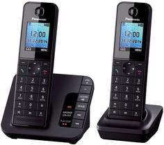Радиотелефон Panasonic KX-TGH222 (черный)