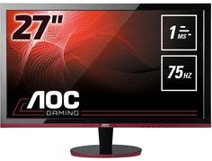 Монитор AOC G2778VQ (черно-красный)