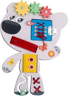 Развивающая игрушка МИ-МИ-МИШКИ Бизиборд Тучка
