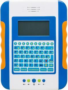 Интерактивная игрушка Play Smart Обучающий планшетный компьютер с цветным экраном (синий)