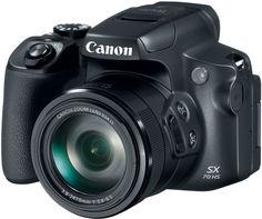 Цифровой фотоаппарат Canon Power Shot SX70 (черный)
