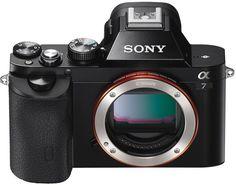 Фотоаппарат со сменной оптикой Sony Alpha A7 Body (черный)