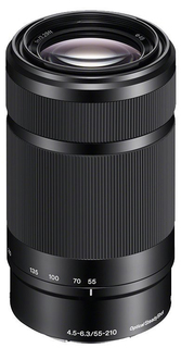 Объектив Sony SEL-55210 (черный)