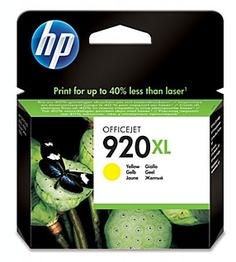 Картридж для принтера HP 920XL (желтый)