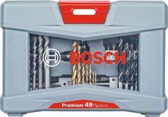 Набор оснастки Bosch Premium Set - 49 (2608P00233) 49 предметов для шуруповертов