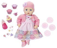 Игрушка Zapf Creation Baby Annabell Кукла многофункциональная Праздничная (розовый)
