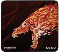 Коврик для мыши SteelSeries QcK+ CS:GO Howl Edition (с рисунком)
