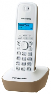 Радиотелефон Panasonic KX-TG1611 (бежевый)