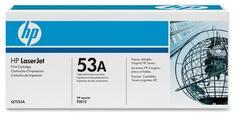 Картридж для принтера HP 53A Q7553A (черный)