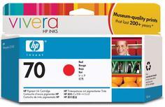 Картридж для принтера HP 70 C9456A (красный)