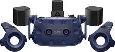 Система виртуальной реальности HTC VIVE Pro Full Kit (черно-синий)