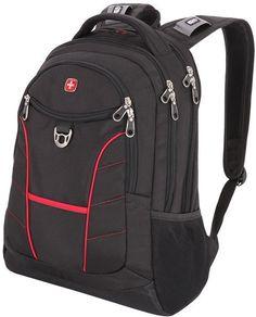Рюкзак WENGER 900D 1178215 (черно-красный)