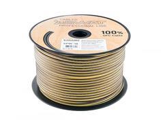 Кабель Swat SPW-18 акустический кабель (желто-черный)