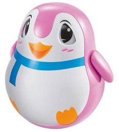 Развивающая игрушка ZHORYA Пингвин-неваляшка (розовый)