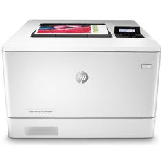 Лазерный принтер HP Color LaserJet Pro M454dn (белый)