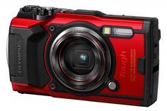 Цифровой фотоаппарат Olympus TG-6 (красный)