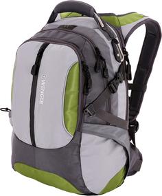 Рюкзак WENGER 15914415 (зеленый, серый)