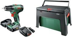 Дрель-шуруповерт Bosch PSR 1440 Li-2 + ящик WorkBox (06039A300D)