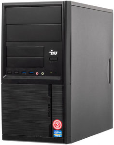 Системный блок iRU Office 225 MT 1176400 (черный)