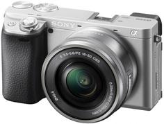 Цифровой фотоаппарат Sony ILCE-6400LS (серебристый)