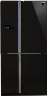 Холодильник Sharp SJ-FS97VBK (черное стекло)