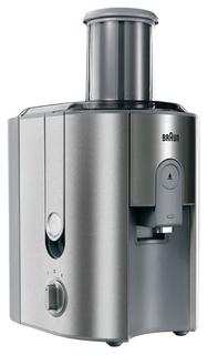 Соковыжималка центробежная Braun J700 (серебристый)