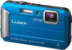 Цифровой фотоаппарат Panasonic Lumix DMC-FT30 (синий)