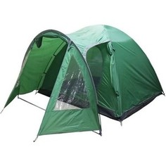 Палатка Jungle Camp четырехместная Texas 4, цвет- зеленый